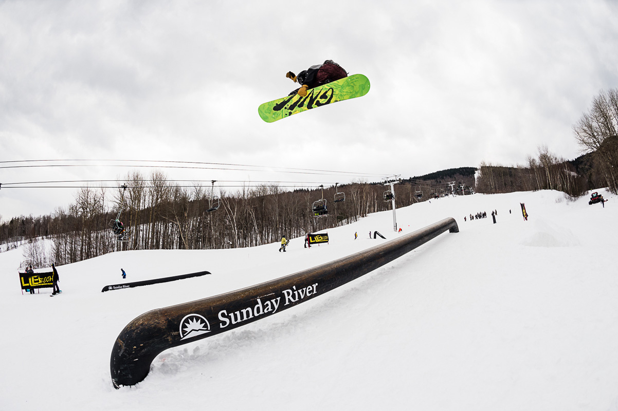 Gus Warbington – Near Canada Open / Sunday River – Tim Zimmerman Photo